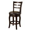 Furniture of America Southland Espresso 24-in Counter Stool