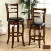 Furniture of America Southland Dark Oak 29-in Bar Stool