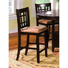 Furniture of America Metropolis Espresso 25-in Counter Stool