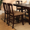 Furniture of America Spring Hill Espresso 24-in Counter Stool