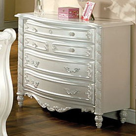 shop furniture of america alexandra pearl white 4 drawer dresser at. Black Bedroom Furniture Sets. Home Design Ideas