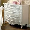 Furniture of America Alexandra Pearl White 4-Drawer Dresser