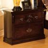 Furniture of America Tuscan Dark Pine Birch Nightstand