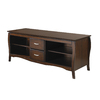 Office Star OSP Designs Walnut Television Stand
