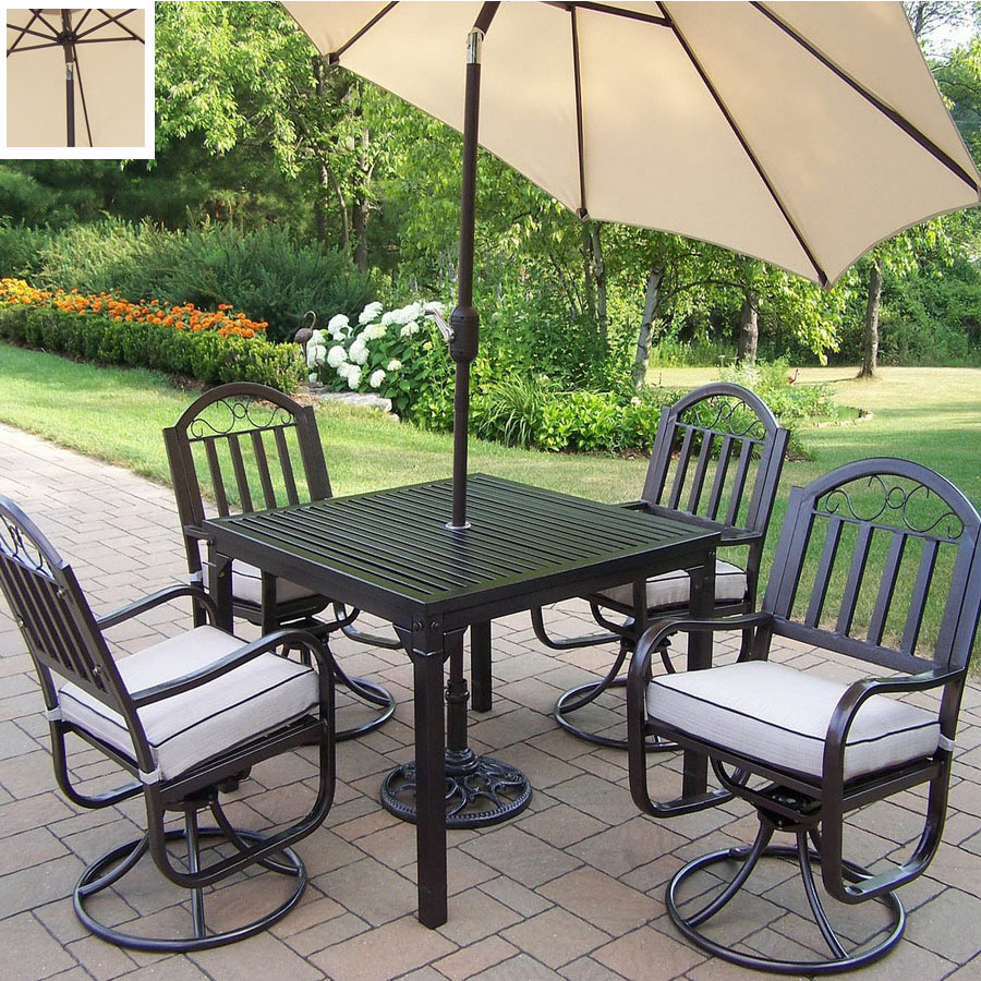 Wrought iron patio dining sets creativity for Best rated patio furniture