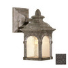 Cascadia Lighting Essex 10-in Lava Stone Outdoor Wall Light