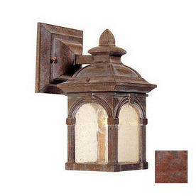 Cascadia Lighting Essex 10-in Royal Bronze Outdoor Wall Light