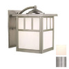 Cascadia Lighting Mission 10-1/2-in Stainless Steel Outdoor Wall Light