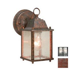 Cascadia Lighting Millard 8-1/2-in Royal Bronze Outdoor Wall Light