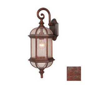 Cascadia Lighting Chateau 21-1/2-in Royal Bronze Outdoor Wall Light