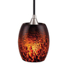 Cascadia Lighting Milano 5.25-in W Satin Nickel Mini Pendant Light