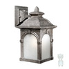 Cascadia Lighting Essex 13-in Lava Stone Outdoor Wall Light ENERGY STAR