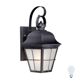 Cascadia Lighting New Haven 15-in Oil-Rubbed Bronze Outdoor Wall Light
