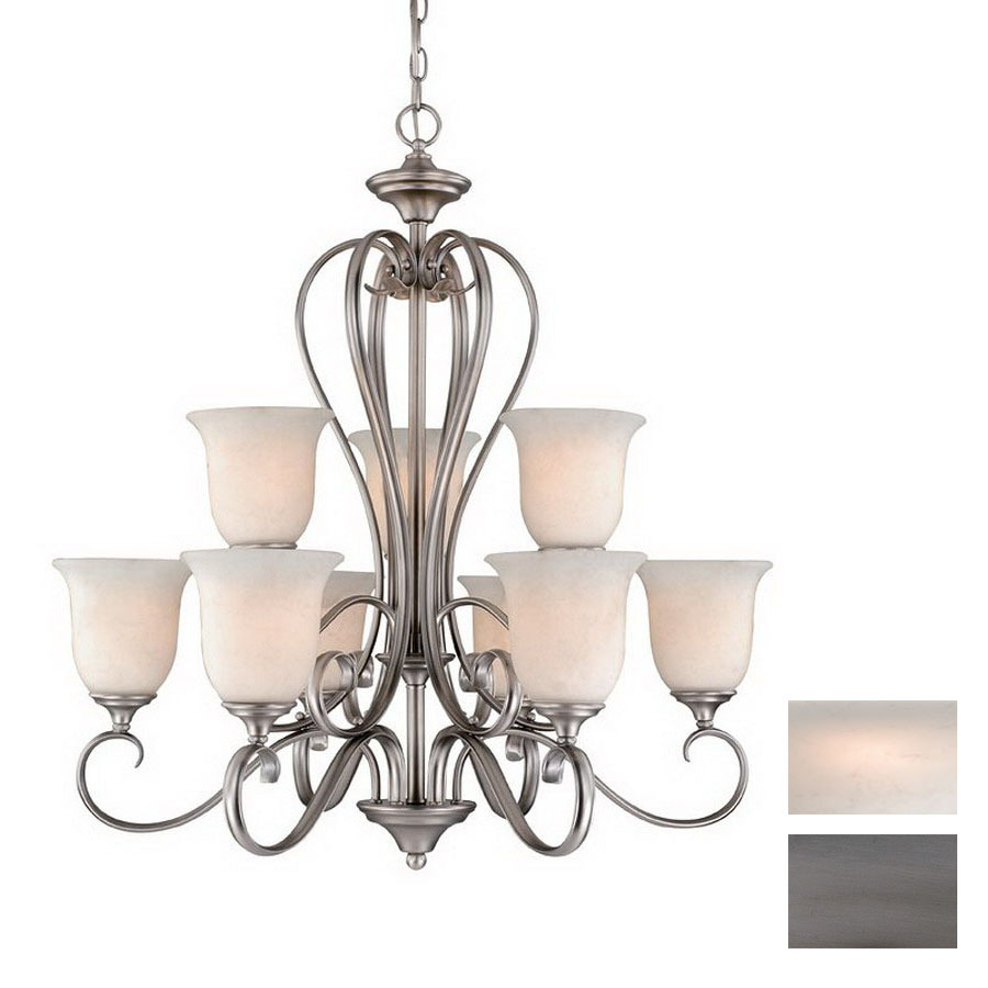 lighting riviera 9 light antique pewter chandelier at