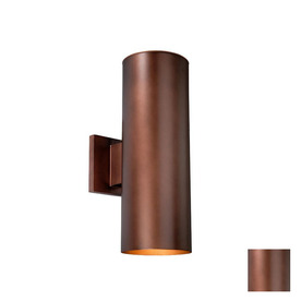 Cascadia Lighting Chiasso 14-1/4-in Bronze Outdoor Wall Light