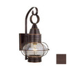 Cascadia Lighting Chatham Nautical 14-in Burnished Bronze Outdoor Wall Light
