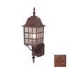 Cascadia Lighting Vista 19-in Royal Bronze Outdoor Wall Light