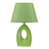 Cal Lighting 17-in Green Table Lamp with Green Shade