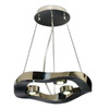 Trend Lighting 16-in W Halo Polished Stainless Steel Pendant Light