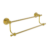 Allied Brass Astor Place Polished Brass Double Towel Bar (Common: 36-in; Actual: 41.2-in)