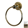 Allied Brass Bolero Antique Brass Wall-Mount Towel Ring