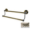 Allied Brass 24-in Double Bolero Antique Pewter Towel Bar