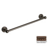 Allied Brass Dottingham Antique Bronze Single Towel Bar (Common: 30-in; Actual: 32.2-in)