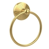 Allied Brass Monte Carlo Polished Brass Wall-Mount Towel Ring