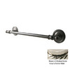 Allied Brass 18-in Regal Polished Nickel Towel Bar