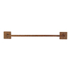 Premier Copper Products 18-in Oil-Rubbed Bronze Towel Bar