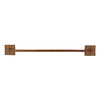 Premier Copper Products 24-in Oil-Rubbed Bronze Towel Bar
