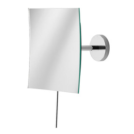 WS Bath Collections 6-1/8-in H x 6-1/8-in W Mirror Pure Square Frameless Bath Mirror