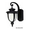 Livex Lighting 14-in White Outdoor Wall Light ENERGY STAR