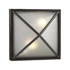 PLC Lighting Danza 12.5-in H Fluorescent Architectural Bronze Outdoor Wall Light
