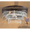 Classic Lighting 15-in W Renaissance 2-Light French Gold Crystal Accent Pocket Wall Sconce