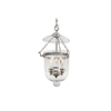JVI Designs 9-in W Pewter Mini Pendant Light
