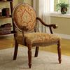 Furniture of America Hammond Antique Oak Accent Chair