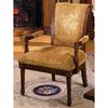 Furniture of America Stockton Oak Accent Chair