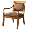Furniture of America Betty Antique Oak Accent Chair