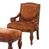 Furniture of America Nottingham Antique Oak Accent Chair