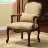 Furniture of America Waterville Dark Cherry Accent Chair