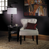 Office Star Avenue Six Black Accent Chair