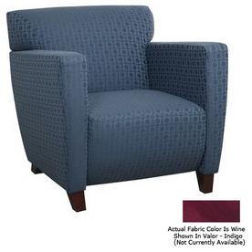 Office Star OSP Furniture Cherry Club Chair