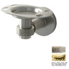 Allied Brass Continental Polished Brass Brass Toothbrush Holder