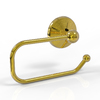 Allied Brass Monte Carlo Polished Brass Surface Mount Toilet Paper Holder