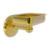 Allied Brass Monte Carlo Polished Brass Brass Soap Dish