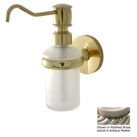 Allied Brass Pewter Soap Dispenser