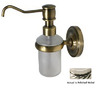 Allied Brass Nickel Soap Dispenser