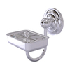 Allied Brass Que-New Polished Chrome Brass Soap Dish