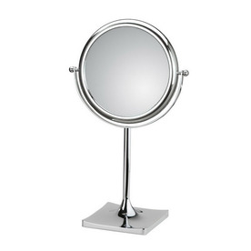 ... Mirror Pure III Chrome Chrome Magnifying Countertop Vanity Mirror at